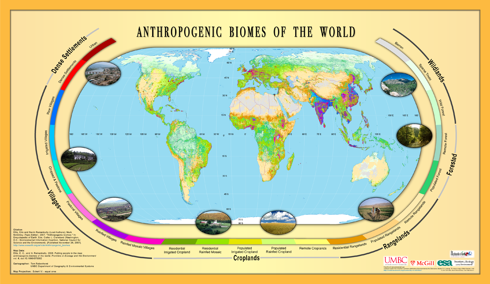 Human habitat maps of anthropogenic biomes free association design like this gumiabroncs Images