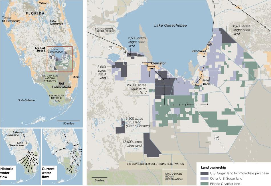 Reclaiming The Florida Everglades Free Association Design - Everglades on us map